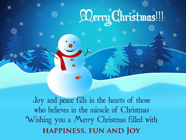 Thiệp lời chúc giáng sinh hay