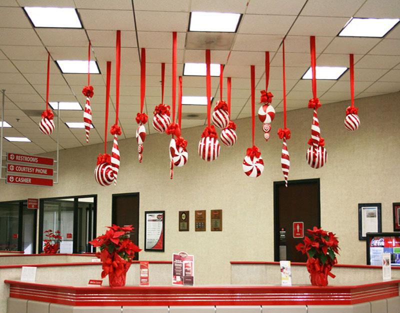 Tổng hợp hình ảnh trang trí Giáng sinh văn phòng