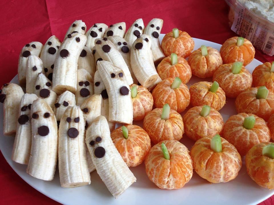 Cách trang trí hoa quả cho lễ Halloween