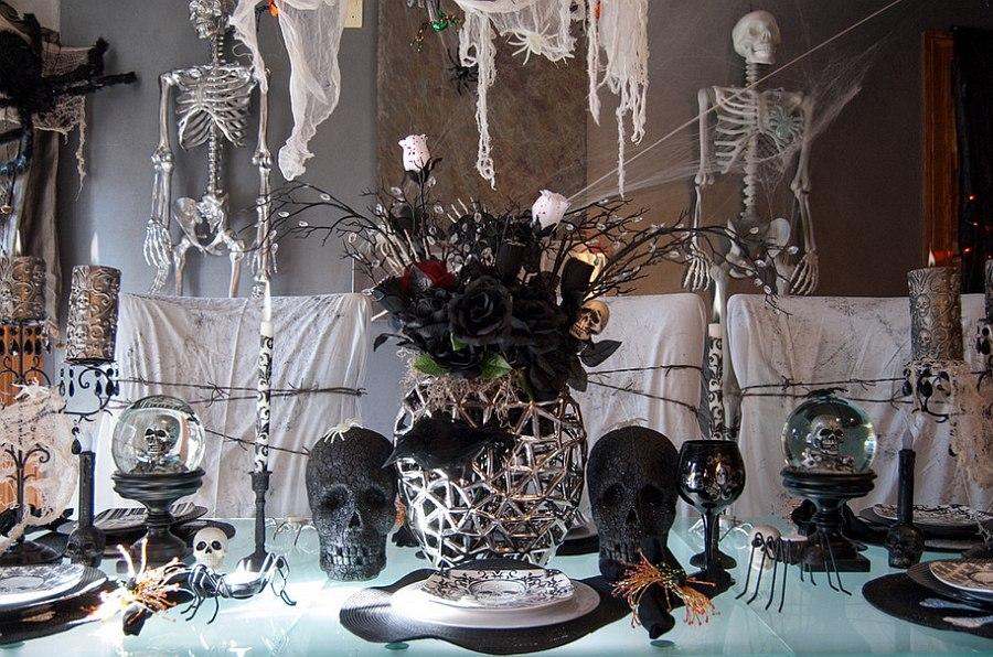Hình ảnh trang trí Halloween kinh dị và ấn tượng