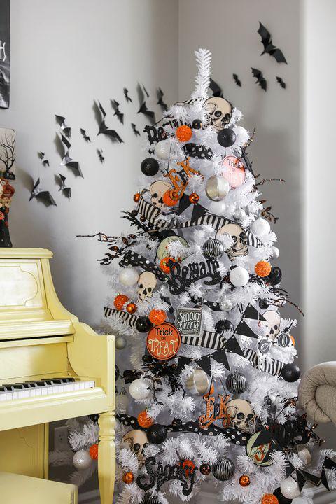 Hình ảnh trang trí Halloween trong nhà