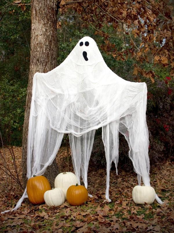Hình nộm trang trí Halloween kinh dị