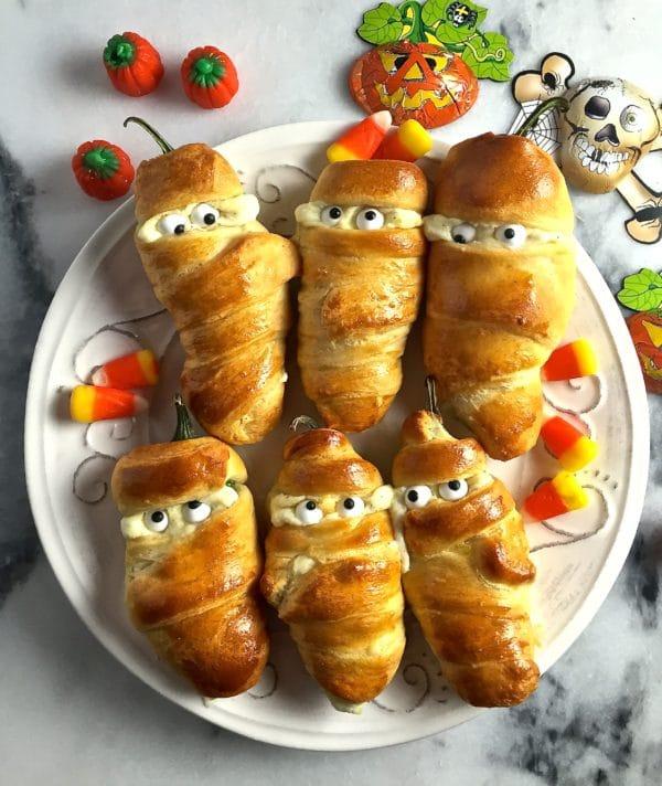 Trang trí đồ ăn halloween độc đáo
