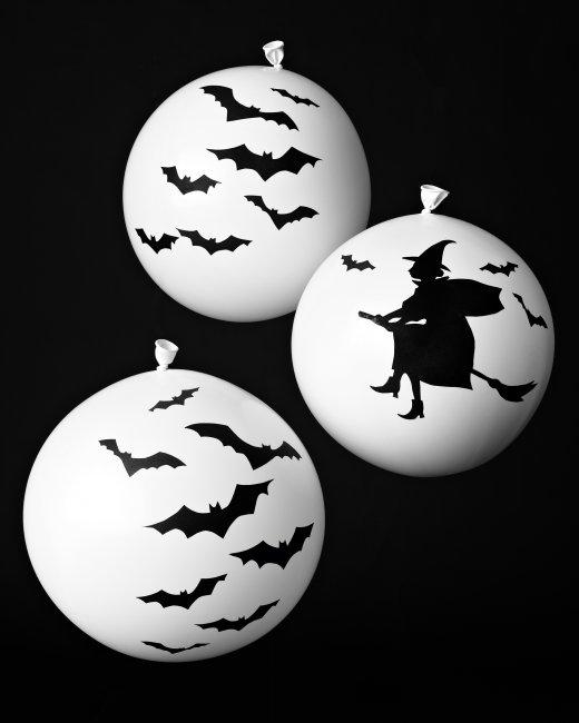 Trang trí halloween bằng bóng bay