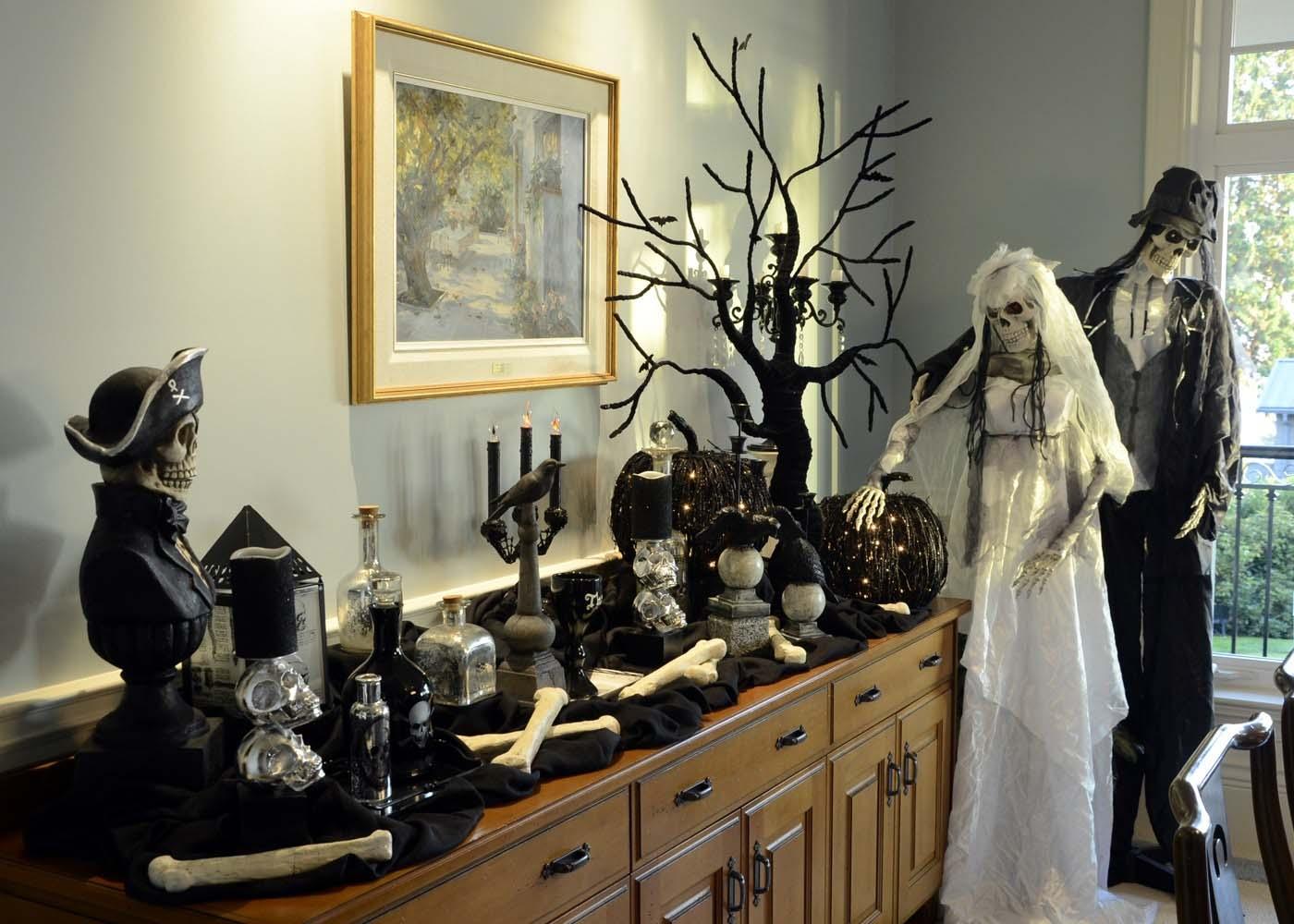 Trang trí halloween đẹp và kinh dị