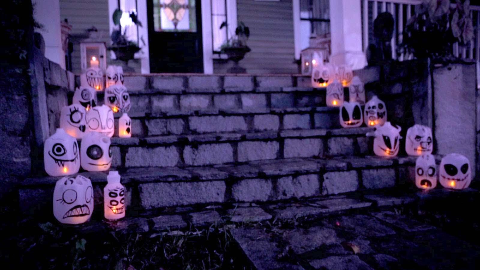Trang trí halloween đơn giản và ngộ nghĩnh