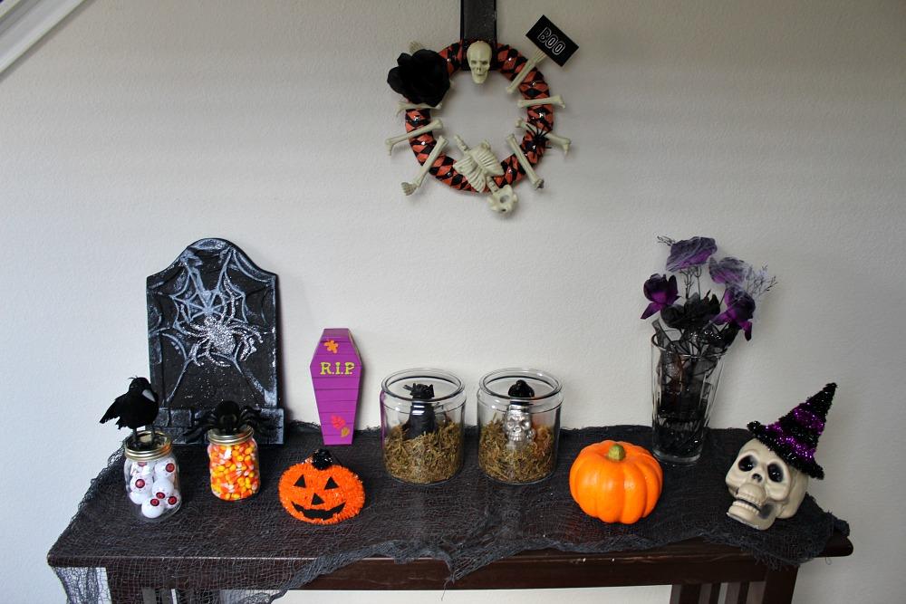 Trang trí halloween handmade đẹp và độc
