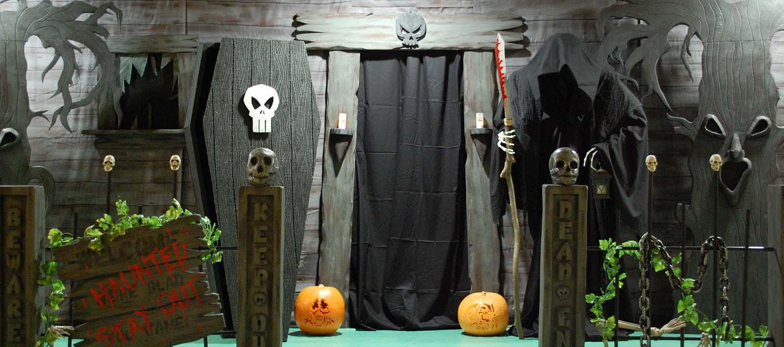 Trang trí halloween kinh dị và đẹp nhất