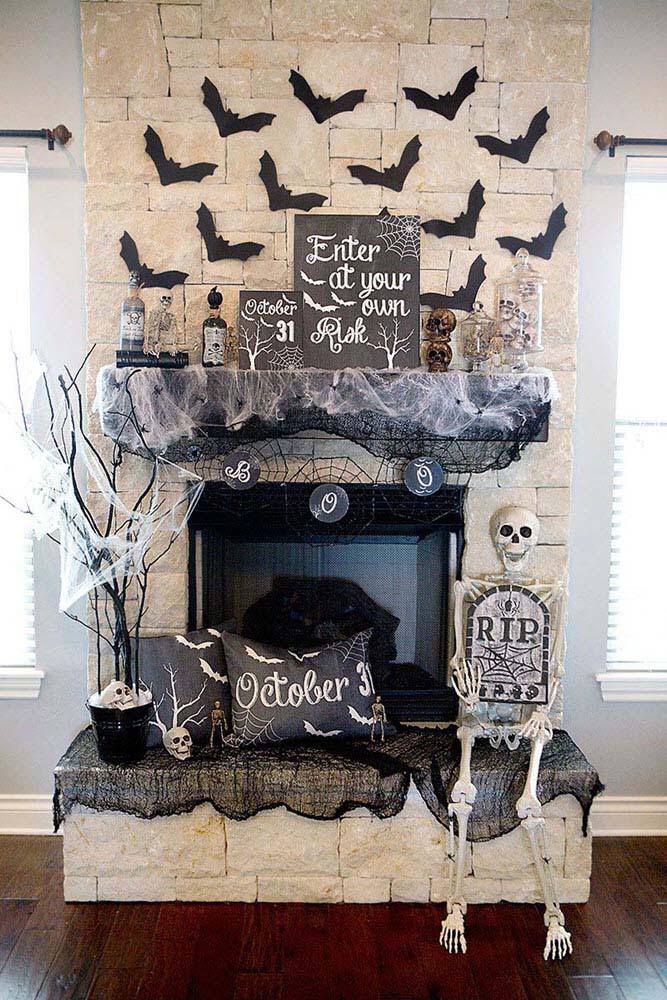 Trang trí halloween kinh dị và đẹp