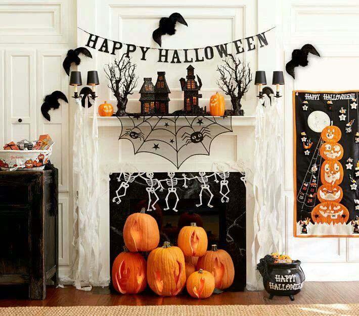 Trang trí halloween trong nhà