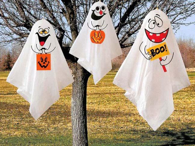 Trang trí ngày halloween độc đáo