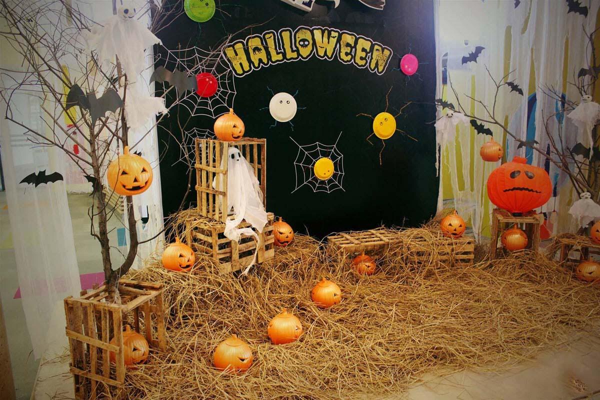 Trang trí tiệc halloween đẹp và ấn tượng
