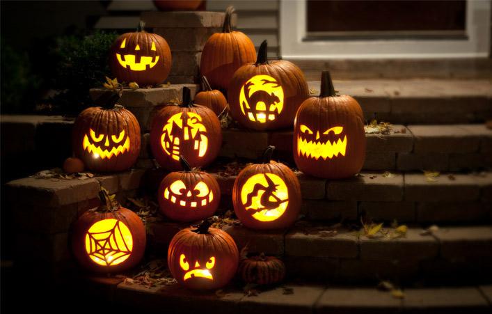 Ảnh đẹp về những quả bí ngô halloween