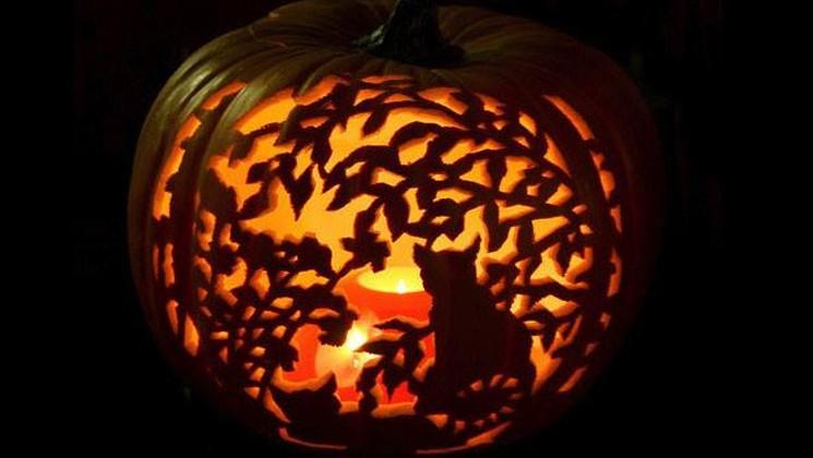 Ảnh quả bí ngô halloween đẹp