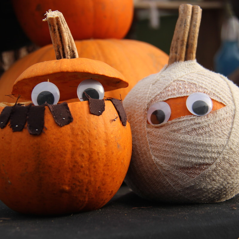 Hình bí ngô halloween ngộ nghĩnh