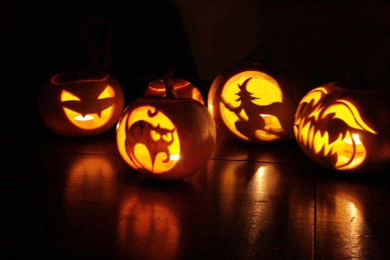 Những quả bí ngô halloween cực đẹp