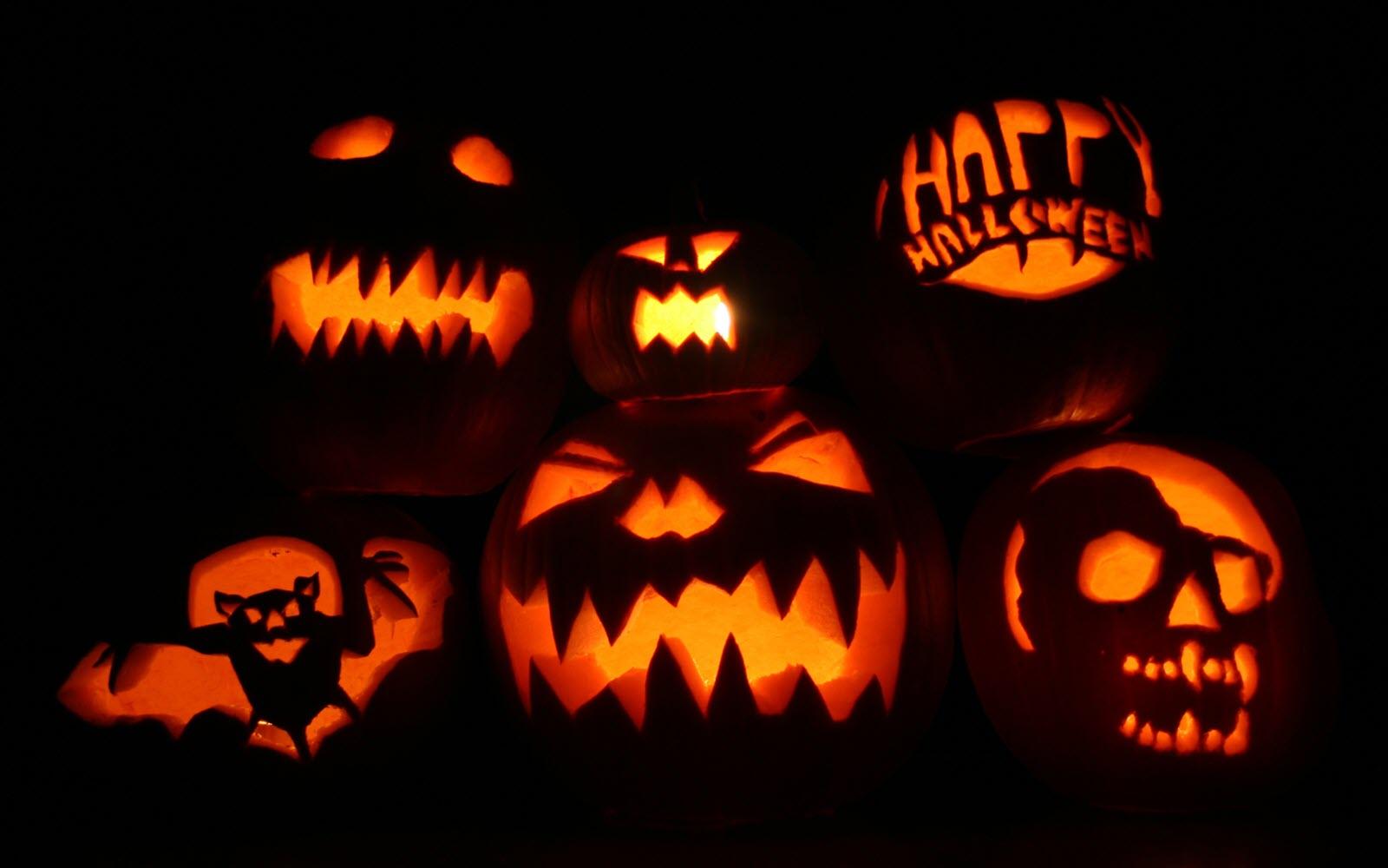 Những quả bí ngô halloween đẹp và lạ