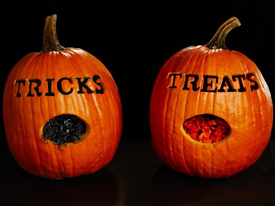 Quả bí ngô halloween đẹp và lạ