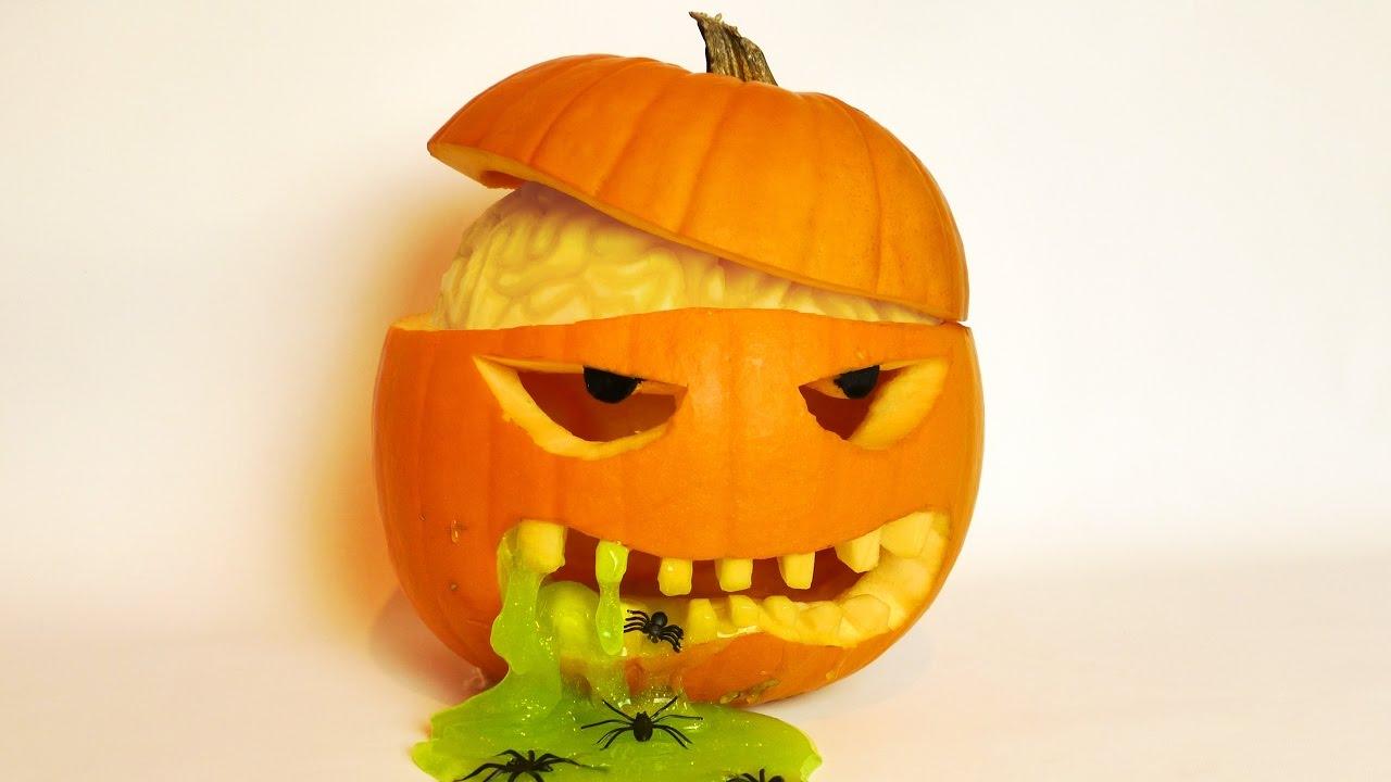 Quả bí ngô halloween độc đáo
