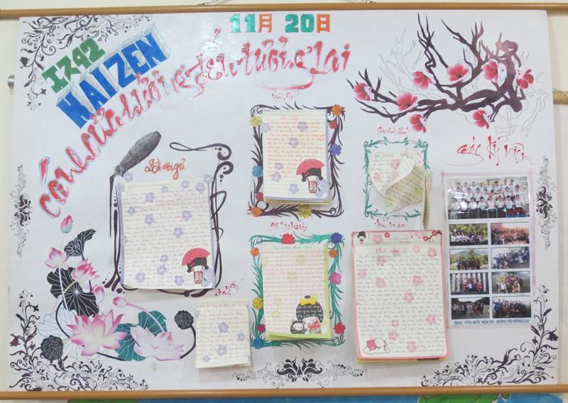 Báo tường 20-11 hay và đẹp