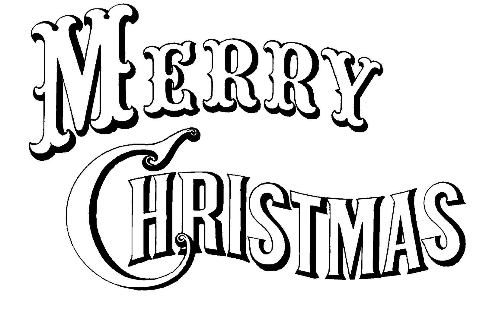 Hình ảnh tranh chữ tập tô cho bé ngày Noel