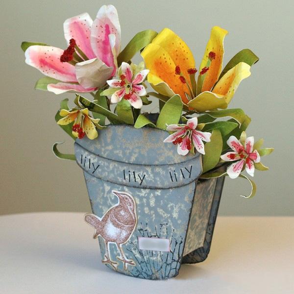 Hoa li trong chậu hình ảnh đẹp nhất