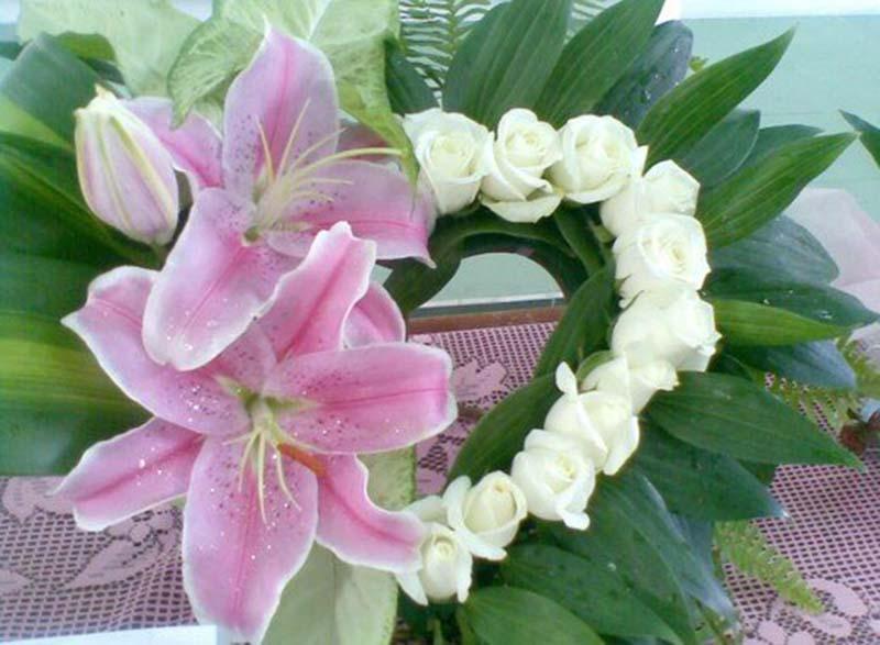 Tổng hợp hình ảnh vòng hoa Ly đẹp nhất