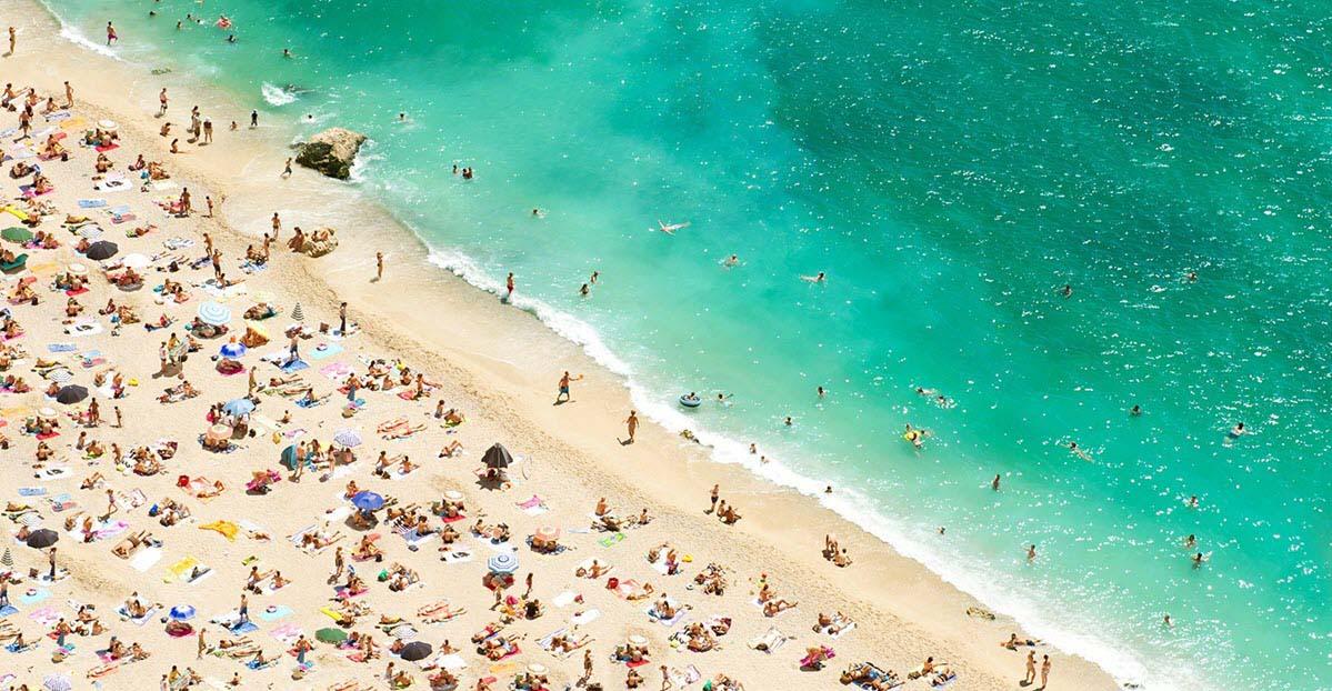 Hình ảnh bãi biển mùa hè