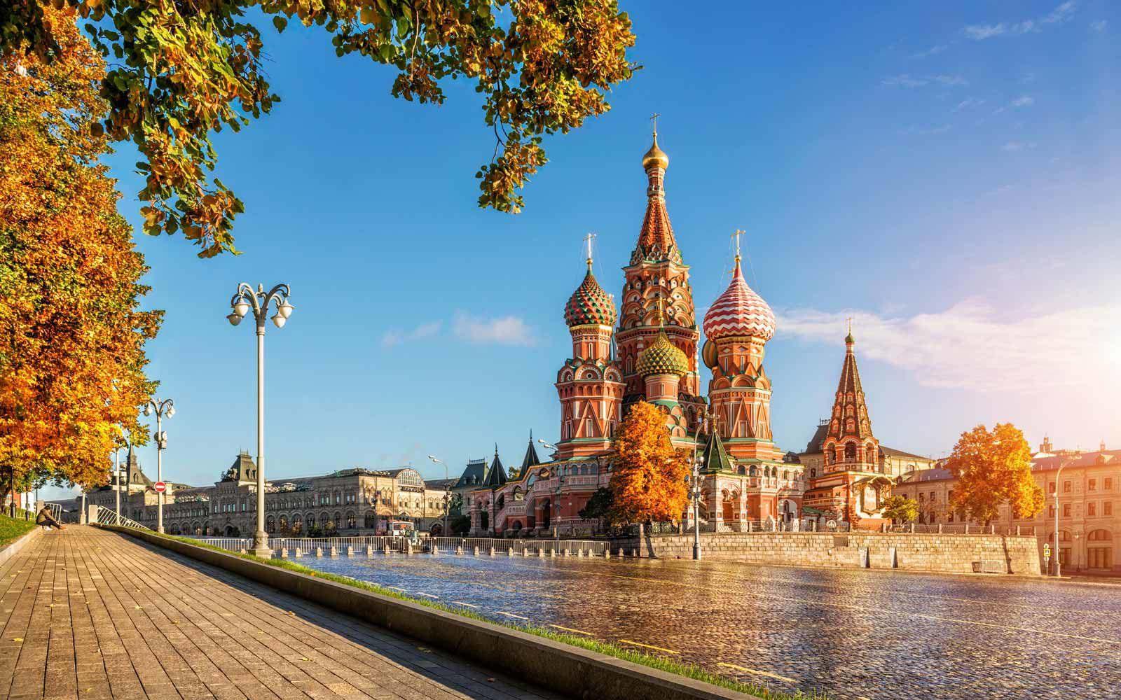 Hình ảnh mùa thu nước Nga