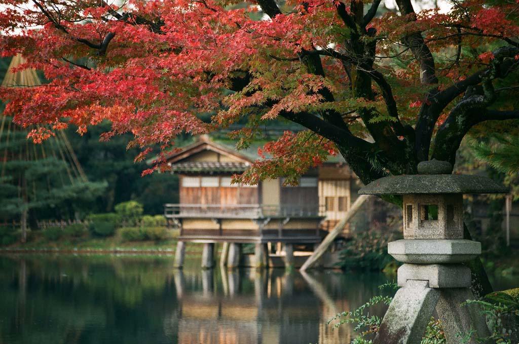 Hình ảnh mùa thu ở Nhật