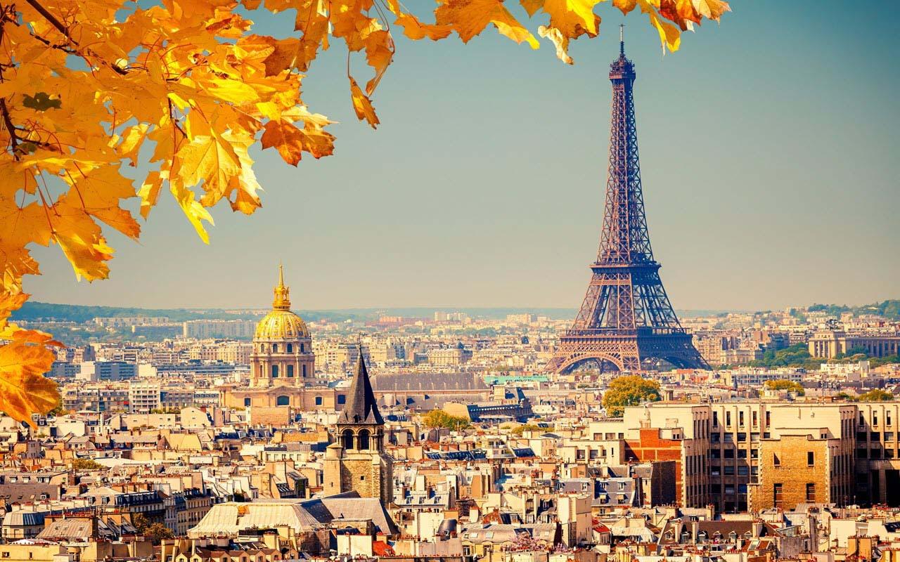 Hình ảnh mùa thu ở Pháp