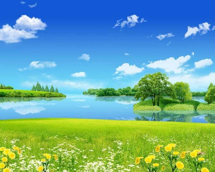 Hình ảnh thiên nhiên mùa hè