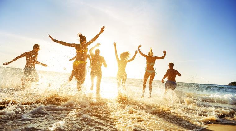 Hình ảnh vui chơi mùa hè