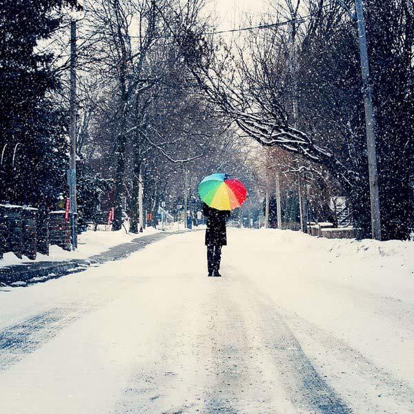 Hình ảnh buồn mà đẹp về mùa đông