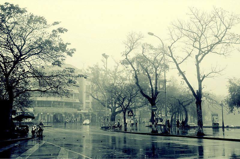 Hình ảnh Hà Nội mùa đông