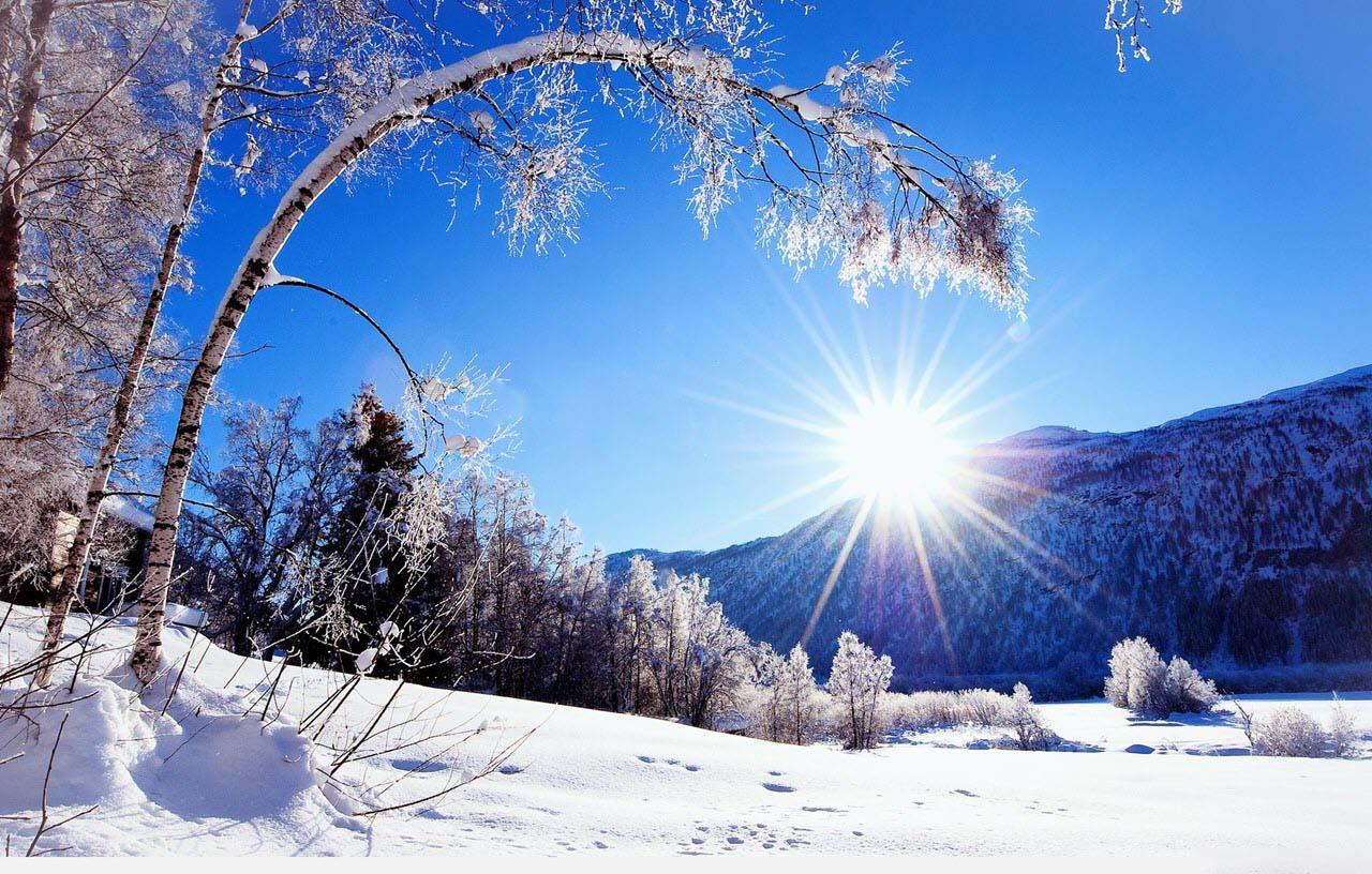 Hình ảnh nắng mùa đông