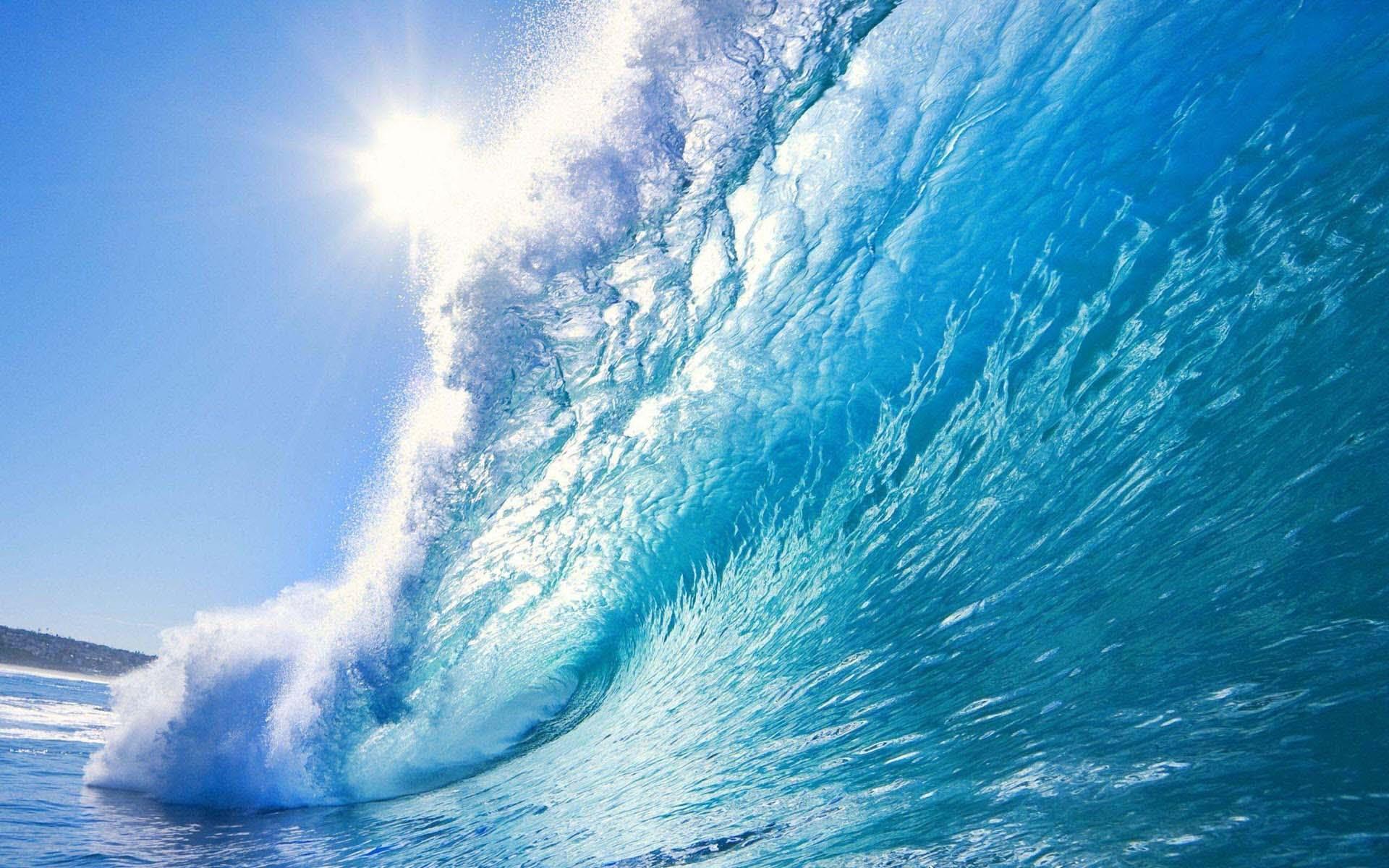 Hình nền màu xanh nước biển